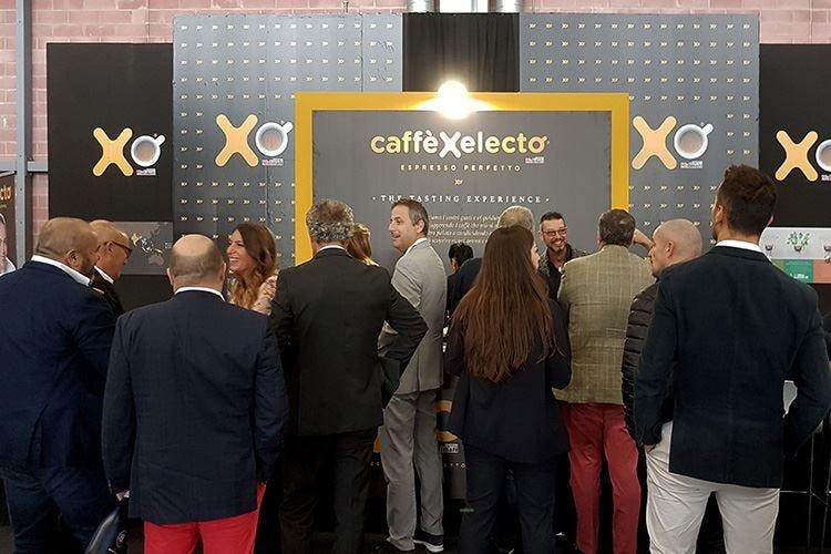 Un caffè tra tanti champagne Xelecto in fiera a Modena