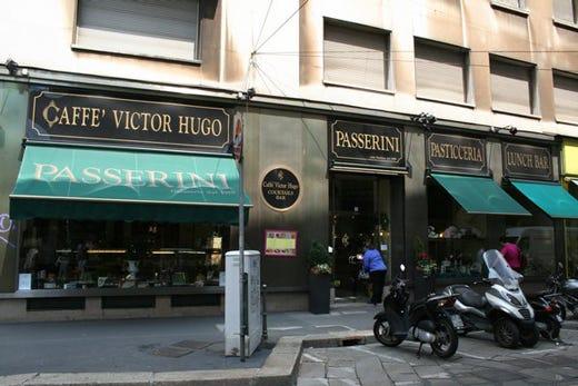 Pausa gustosa da passerini a milano la caffetteria d antan for Bar maison torino