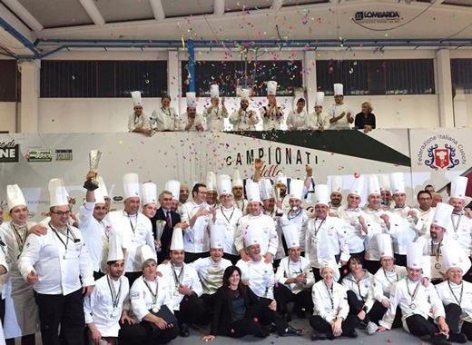Pioggia di premi e grande successo per i primi Campionati di cucina Fic