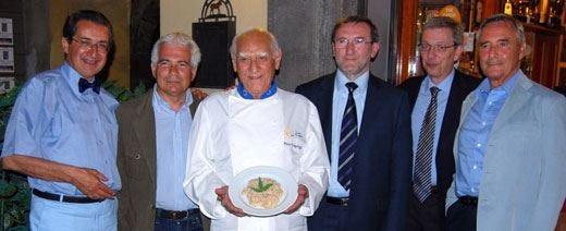 Debutto per il risotto alla bergamasca Capozzi dà un assaggio della ricetta
