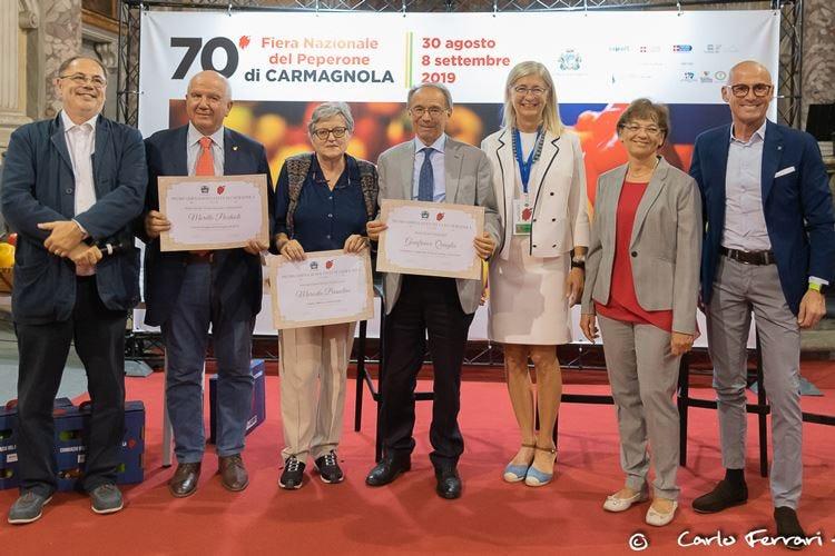 Carmagnola, la Fiera del Peperone premia tre giornalisti