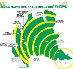 La Lombardia della solidarietà Vendite in piazza e consorzi solidali