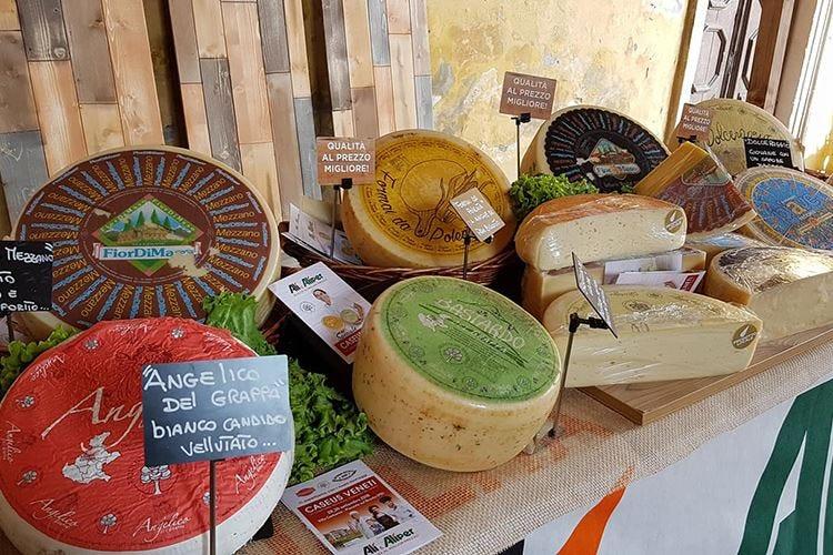 Caseus Veneti si amplia a formaggi di montagna e fattoria