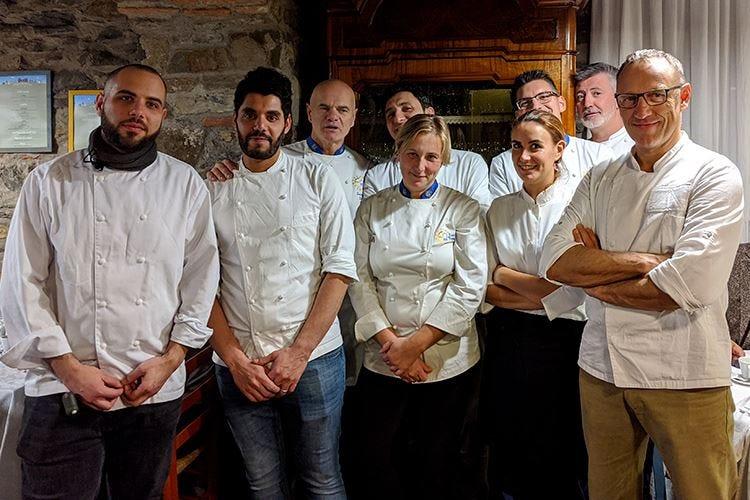 La castagna lariana si racconta nei piatti dei cuochi Euro-Toques