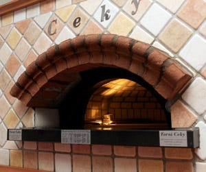 La pizzeria in casa firmata da ceky quando le dimensioni - Forno senza canna fumaria ...