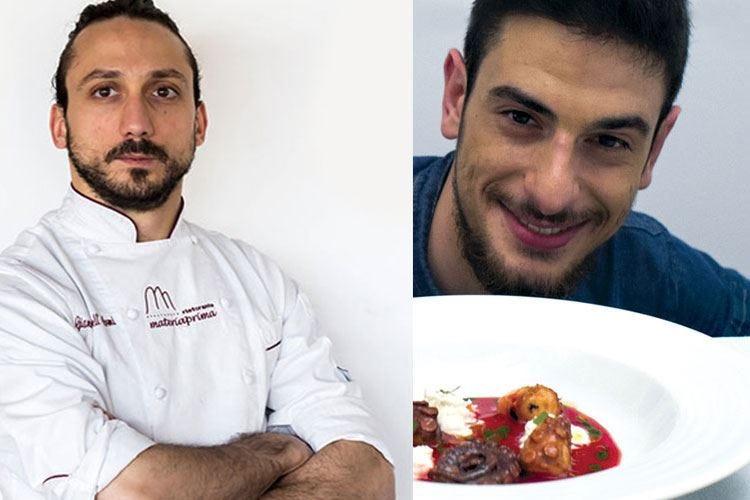Pescara, cena tra Niko's boys Dell'Armi e Mastrocola ai fornelli