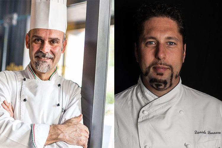 Sarzi e Zennaro al Baglioni di Roma Cena a 4 mani con menu estivo