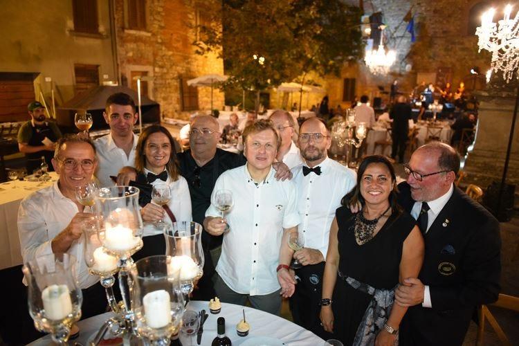 Cena di Lucignano, un successo firmato dai cuochi di Euro-Toques