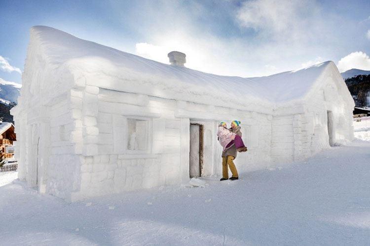 Uno chalet di neve per San Valentino A Livigno il sogno diventa realtà