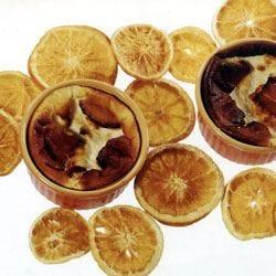 Cheesecake all'acqua di fiori d'arancio
