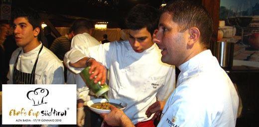 Chef's Cup 2010, la grande cucina tra fornelli, territorio e sci