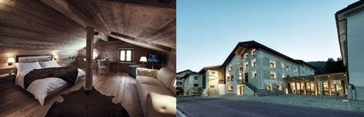 Chesa Stuva Colani in Alta EngadinaLuxury hotel di grande fascino