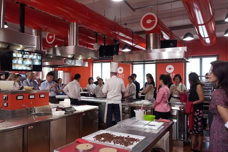 Il cibo unisce Italia e Cina Patto di gusto sulla Via della Seta