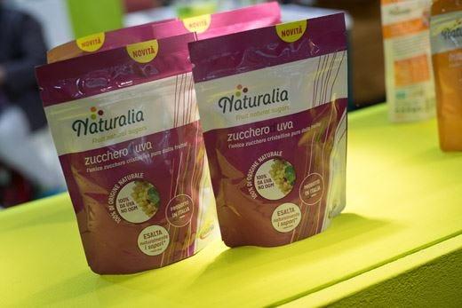 Da Naturalia l'innovativa linea di zuccheri d'uva cristallini