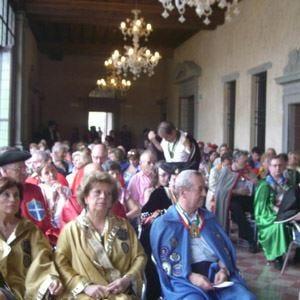Circolo La Franciacorta e bollicine 36 confraternite s'incontrano a Brescia