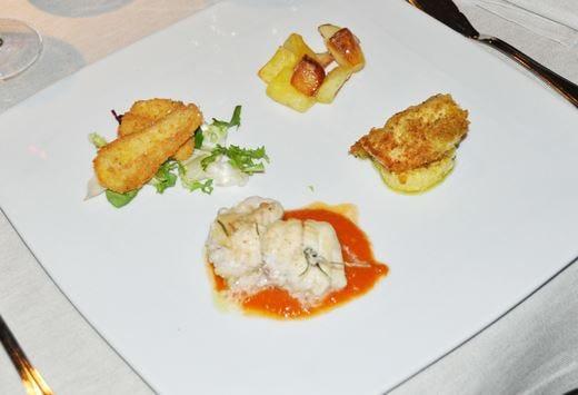 Specialità di pesce del lago d'Iseoper il Club Buongustai Bergamo