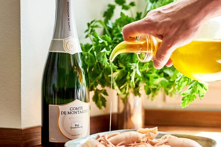 Champagne Comte de Montaigne Una storia lunga otto secoli
