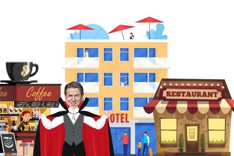 Conte getta la maschera sul turismo: ristoranti, bar e hotel possono sparire