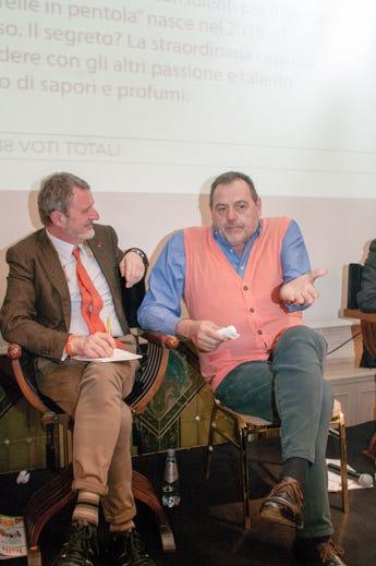 Alberto Lupini e Gianfranco Vissani
