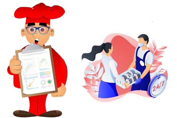 Ristoranti e digitale, resa dei conti: «Il delivery diventa marketing»