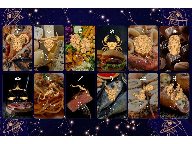 [La settimana dal 04 al 10 Gennaio] Oroscopo del cibo di Susy Grossi