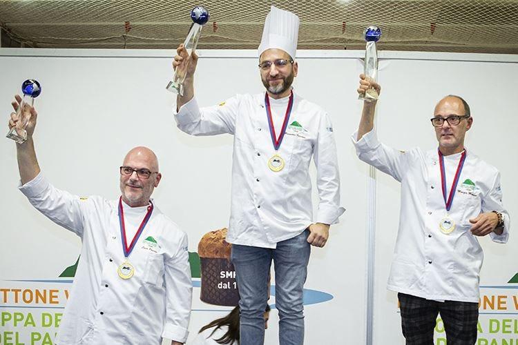 Coppa del Mondo del Panettone Massimo Ferrante al primo posto