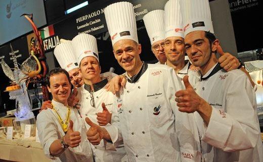 Coppa del mondo di gelateria L'Italia riconquista il titolo