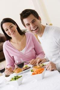 La dieta pesa meno e la tavola è più buona se è