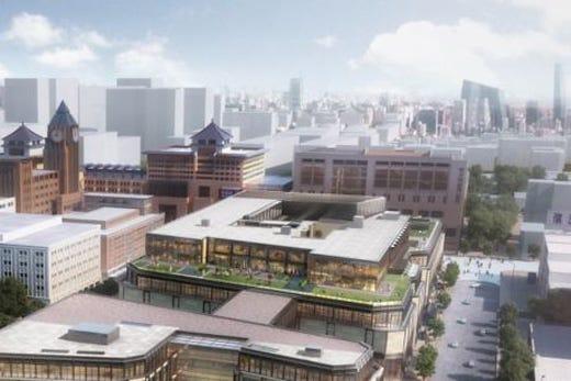 Un nuovo spazio del lusso a pechino targato mandarin for Progetti di costruzione famosi
