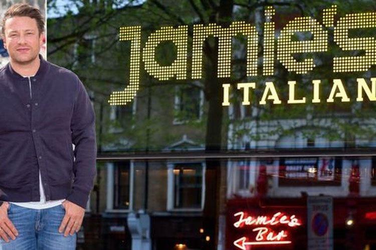 Il crack di Jamie OliverA rischio mille dipendenti