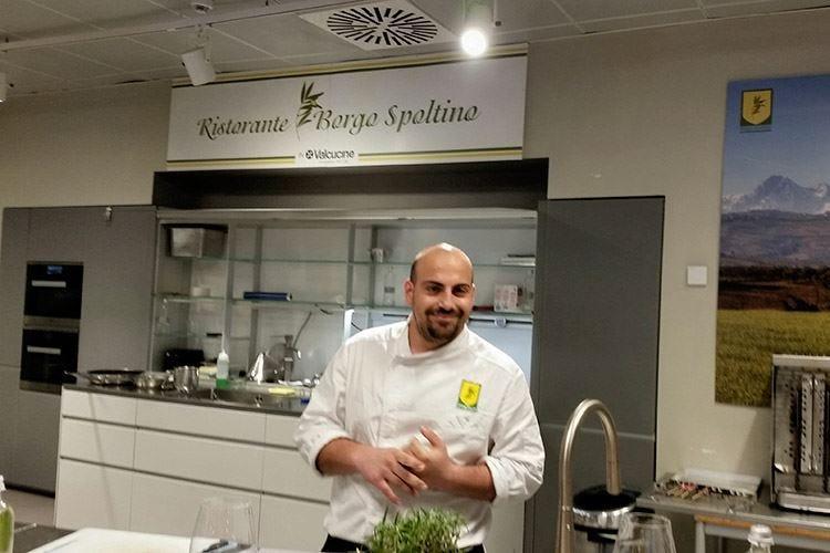 La cucina di Borgo Spoltino al temporary restaurant di Eataly Milano