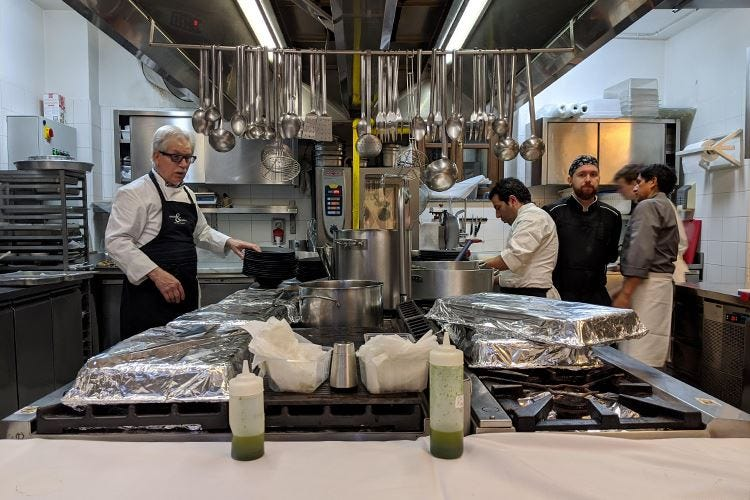 La cucina sarda secondo Sergio Mei Piatti autunnali a Cascina Ovi