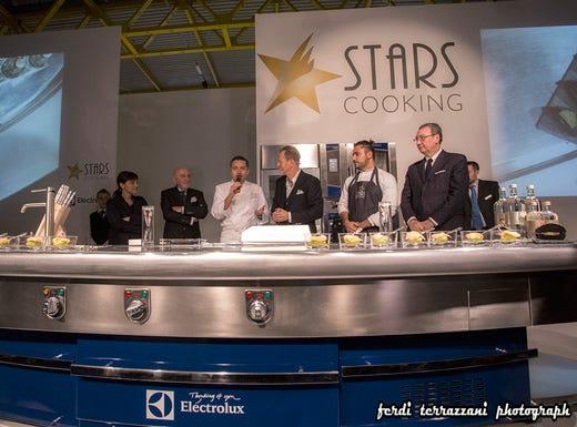 Record di presenze a cucinare tanti stellati per inediti for Cucinare da chef
