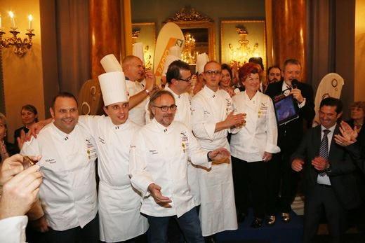 Alta cucina condita dall'allegria alla cena di gala di Palazzo Borghese