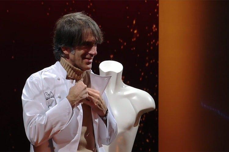 Davide Oldani, unico chef presente
