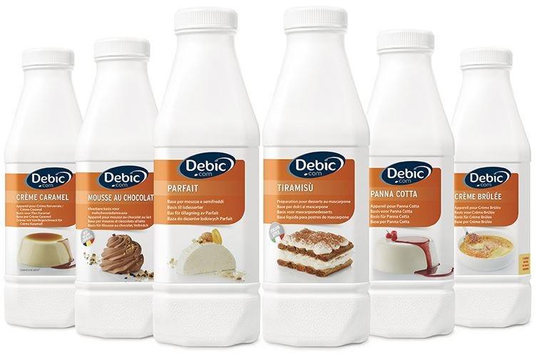 Dessert Debic: praticità, versatilità e ispirazione per il servizio