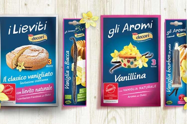 """I prodotti con vaniglia di Decorì eletti """"Prodotto dell'anno 2019"""""""