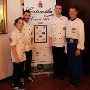 Miglior piatto alle nocciole d'Italia Marco Di Lorenzi trionfa a Cortemilia