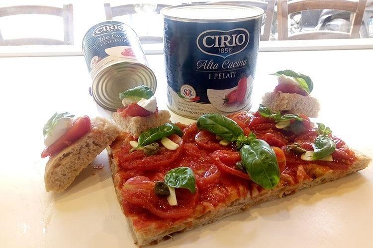 Monogrammi con Cirio Alta Cucina «Scelgo Cuor di Pelato e Ciliegini»