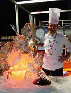 """Coppa del mondo di pasticceria a Lione Italia cerca l'oro con """"il bosco incantato"""""""