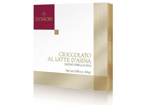Grande novità in casa Domori Arriva il Cioccolato al latte d'asina