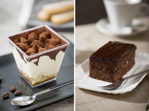 Tiramisù monoporzione e Choco Cake Il piacere del dessert... senza glutine!