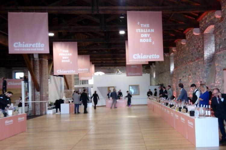 Due giorni d'anteprima per il Chiaretto Il vino del Garda mette tutti d'accordo