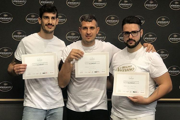 Elementi, a Milano l'ultima tappa Tantucci, Sparacio e Della Pia in finale
