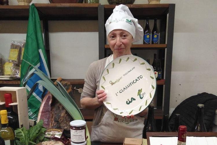 Elena Pardini è la prima Agrichef toscana La sua zuppa seduce il festival regionale