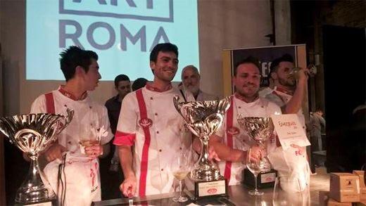 Elio Santosuosso conquista il titolo di Pizza chef emergente 2015