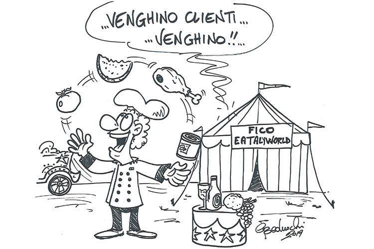 La cucina italiana non è un circo!
