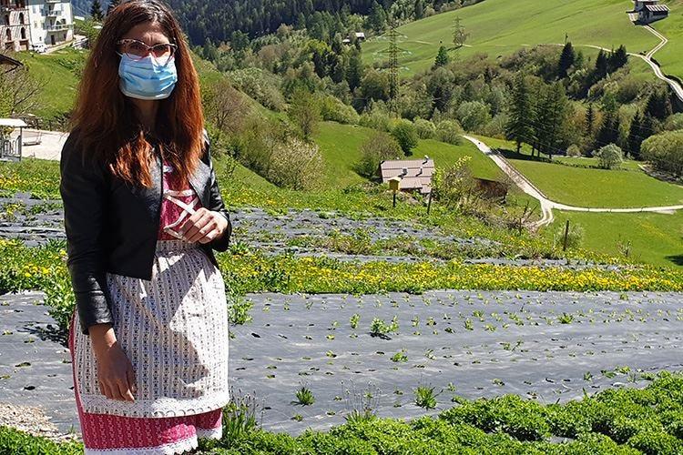 Le erbe armoniche di Sofia Panizza Vengono coltivate a suon di musica