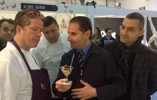 Il dessert di Giordano De Stefano supera il giudizio di Ernst Knam