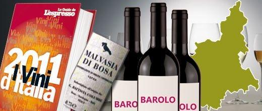I Vini d'Italia 2011 de L'Espresso In vetta il Barolo e il Piemonte